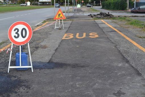 Grugliasco, nuova fermata dello scuolabus in corso Salvemini