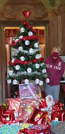 l'albero di Natale nel Museo del Grande Torino di Villa Claretta