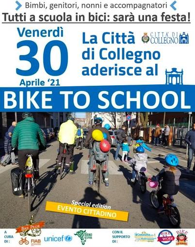 Verrà lanciato il crowdfunding per il bicibus di Collegno e Grugliasco