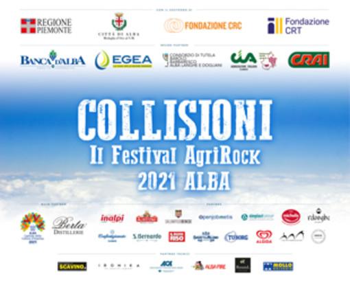 Sabato 10 luglio ad Alba al via Collisioni 2021