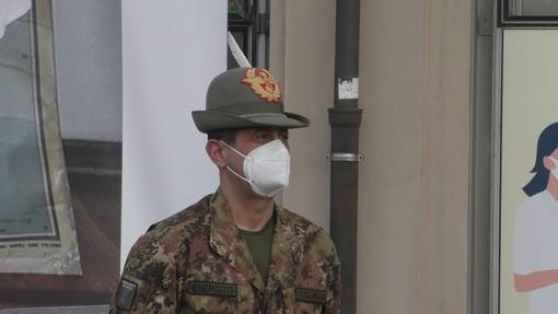"""Il generale Figliuolo a Sestiere: """"Stop alle polemiche sul Green Pass, vacciniamoci"""""""