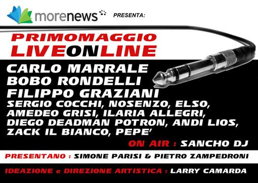 LiveOnLine: il concerto del Primo Maggio in diretta su tutti i giornali del gruppo MoreNews (Il trailer) [VIDEO]