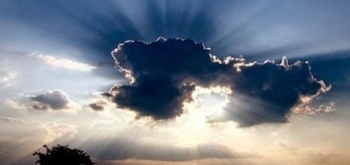 Nuvole coprono il sole
