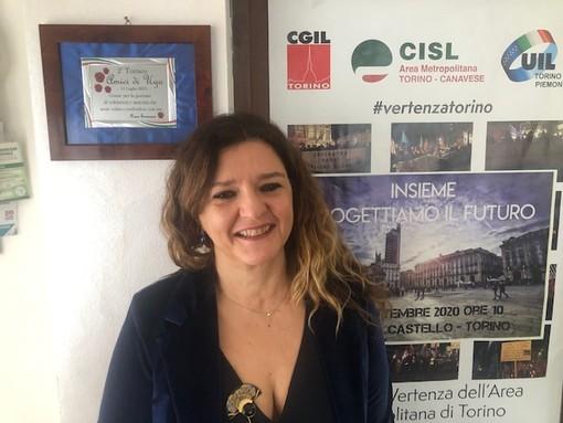 Olga Longo, segretaria Fisascat Cisl Torino e Canavese