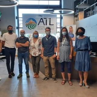 La presentazione del marchio in ATL