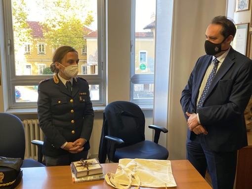 Grugliasco, il nuovo commissario capo della polizia di Rivoli Castaldo incontra il sindaco Montà e la sua giunta