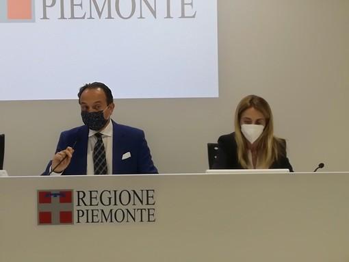 Alberto Cirio ed Elena Chiorino
