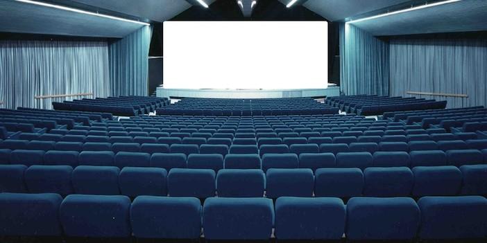 sala cinematografica vuota