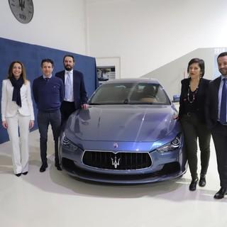 Grugliasco, alla Maserati 60 studenti delle superiori per capire meglio il loro futuro