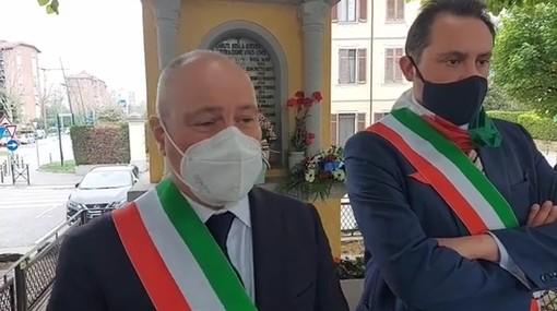 Collegno e Grugliasco insieme per la cerimonia del 30 Aprile