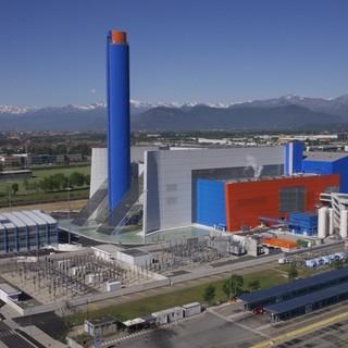 visione panoramica del termovalorizzatore di Torino